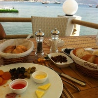 Photo taken at Pause Beach by Ali Ş. on 7/21/2013