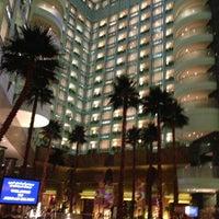 Photo taken at Jeddah Hilton Executive Lounge by Fahad on 6/1/2013