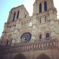 Photo taken at Cathedral of Notre Dame de Paris by marco p. on 7/8/2013