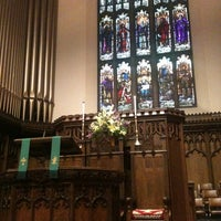 Photo taken at Plymouth Congregational Church by Lisa D. on 9/11/2011