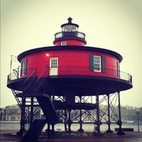 Photo taken at Seven Foot Knoll Lighthouse by Philip on 12/6/2011
