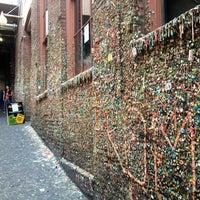 Photo taken at Gum Wall by Meagan W. on 7/6/2012