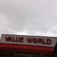 Photo taken at Value World by Queen Heathen on 10/26/2011