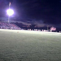 Photo taken at Spitzer Stadium by Ryan S. on 10/14/2011