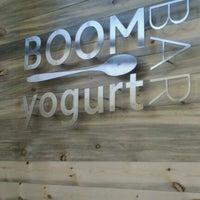 Photo taken at Boom Yogurt Bar by Grace B. on 9/10/2011