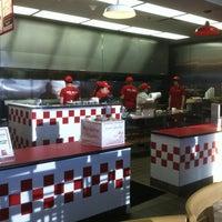 Photo taken at Five Guys by Garrett W. on 2/17/2012