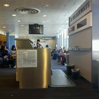Photo taken at Gate F8 by Scott A. on 10/2/2012