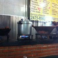Photo taken at El Huarache de Homero by Mane on 9/15/2012