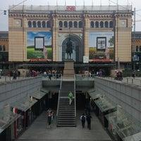 Photo taken at Hannover Hauptbahnhof by Svetlana on 6/9/2013