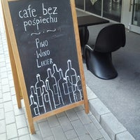 Photo taken at Cafe Bez Pośpiechu by Ania N. on 8/2/2013