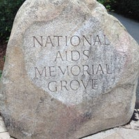 Photo taken at The National AIDS Memorial Grove by T.J. L. on 11/18/2012