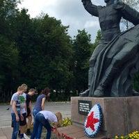 Photo taken at Памятник комсомольцам Орловщины by Svetlana on 6/22/2015