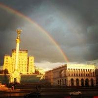 Снимок сделан в Майдан Незалежности пользователем Helena M. 7/22/2013