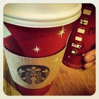 Photo taken at Starbucks by Felipe M. on 12/1/2012