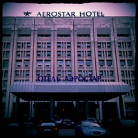 Photo taken at Aerostar Hotel Moscow by Dmitry I. on 10/19/2012