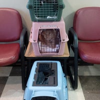 Photo taken at Crossroad Animal Hospital by Chelsie T. on 6/11/2014