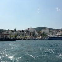 Photo taken at Büyükada Mavi Marmara Motor İskelesi by Gizem K. on 7/27/2013