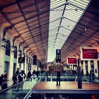 Photo taken at Paris Saint-Lazare Railway Station by Michael on 4/7/2013