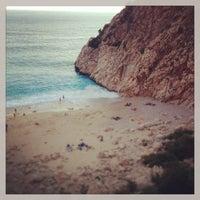 7/14/2013 tarihinde Hilal T.ziyaretçi tarafından Kaputaş Plajı'de çekilen fotoğraf