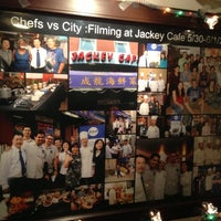 Photo taken at Jackey Cafe by Corey L. on 12/31/2012