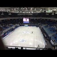 Photo taken at Iceberg Skating Palace by Анастасия К. on 12/6/2012