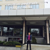 Photo taken at Kampüste (European Polythecnical Universty Pernik Yerleşkesi) by Salih S. on 4/7/2015