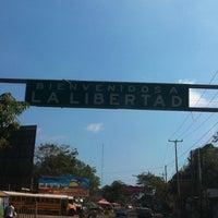 Photo taken at El puerto de la libertad by Lucy on 1/13/2013