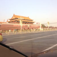 Photo taken at Tian'anmen Square by Le Ricain en Ohio on 11/29/2012