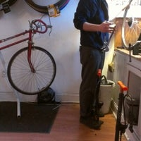 Photo taken at Bike Slug by Katharine R. on 11/10/2012