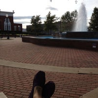 Photo taken at The Courtyard and Fountain by Chelsie S. on 10/7/2012