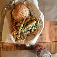 Photo taken at Farm Burger by melissa t. on 12/21/2014