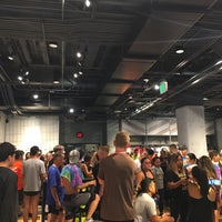 Photo taken at Niketown SF Run Club by melissa t. on 6/22/2017