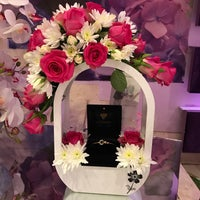 Photo taken at Purple Flowers by 🌷Samo🌷 . on 4/12/2018