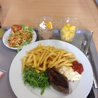 Photo taken at Bedrijfsrestaurant by Rose C. on 5/27/2014