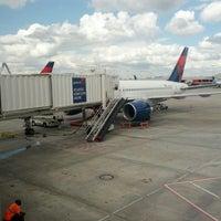 Photo taken at Gate B3 by Jose B. on 4/18/2013