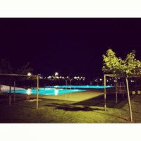 Photo taken at Piscines Municipals d'Alcarràs by Lorena I. on 7/19/2014