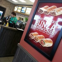 Photo taken at Runza by Tricia F. on 2/7/2013