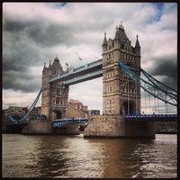 Photo taken at Tower Bridge by 15Richmondpark on 5/10/2013