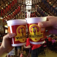 Photo taken at Wurstfest by Shane S. on 11/2/2013