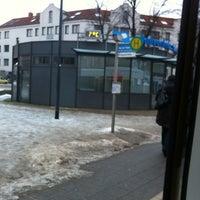 Photo taken at Platz der Freiheit by Philipp N. on 12/15/2012