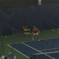Photo taken at Paramount Tennis Club by Danielle A. on 9/3/2013