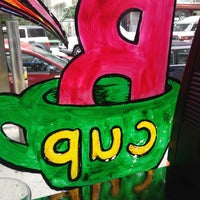 Photo taken at B Cup Cafe by Cafecito A. on 10/26/2012