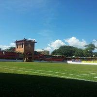 Photo taken at Campo das Cavalhadas by Stela M. on 5/19/2013