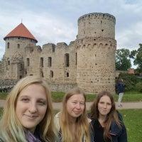 Photo taken at Cēsu pils. by Maija P. on 9/17/2017