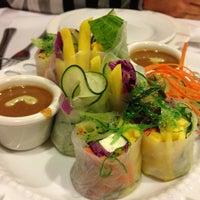 Photo taken at Lotus Thai Bistro by Julien V. on 3/28/2013