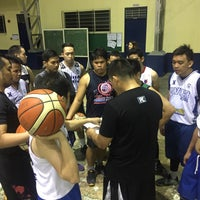 Photo taken at Xavier University High School- Covered Courts by JR CHING A. on 7/11/2017