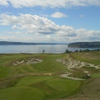 Photo taken at Chambers Bay Golf Course by Matthew W. on 6/2/2013