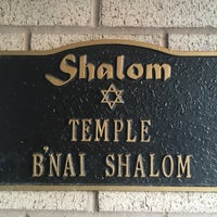 Photo taken at Temple B'nai Shalom by GreatStoneFace on 3/21/2016