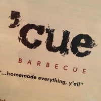 Photo taken at 'Cue Barbecue by Karen P. on 9/10/2013