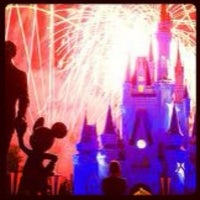 Photo taken at Wishes Nighttime Spectacular by Karen P. on 1/14/2013